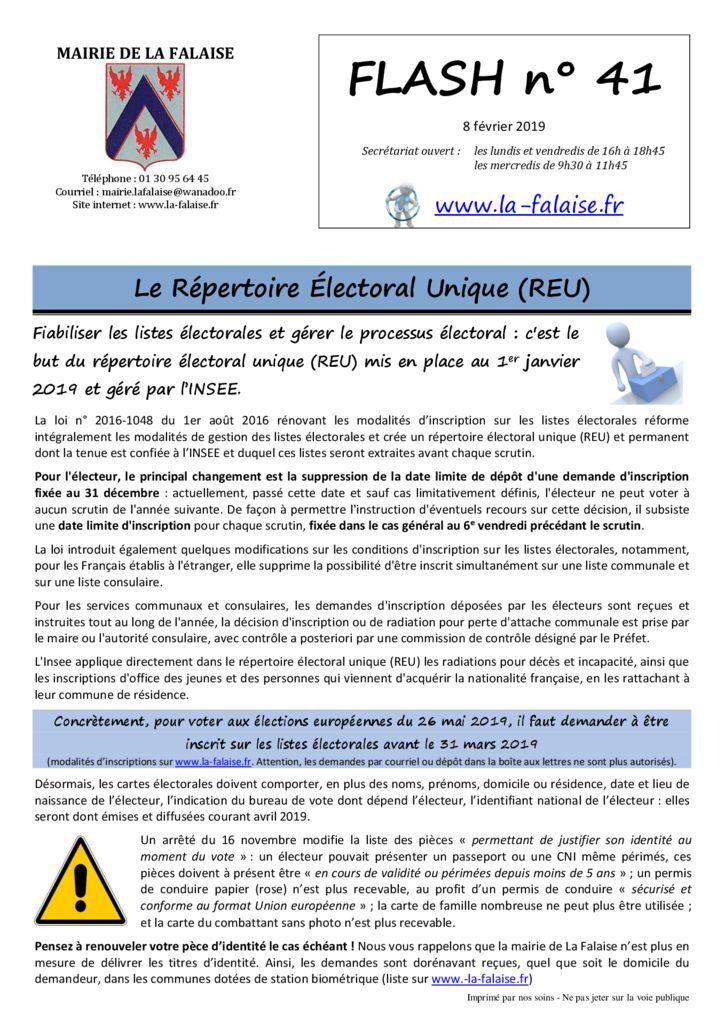 thumbnail of FLASH N° 41 REU AssainissementGPSeO fermeture ImpBecGéline BoisSteTurpine InscEcole Doléances Déjections MesPdtsEnYvelines DGFIP 2