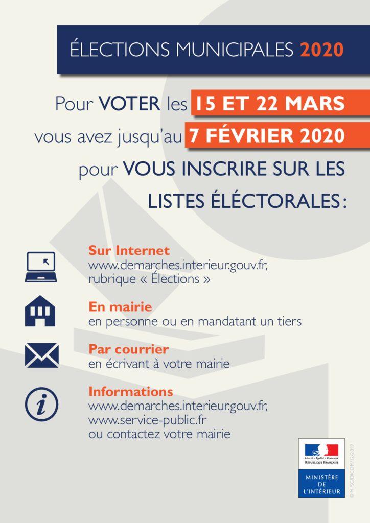 thumbnail of tract information date inscription liste électorale