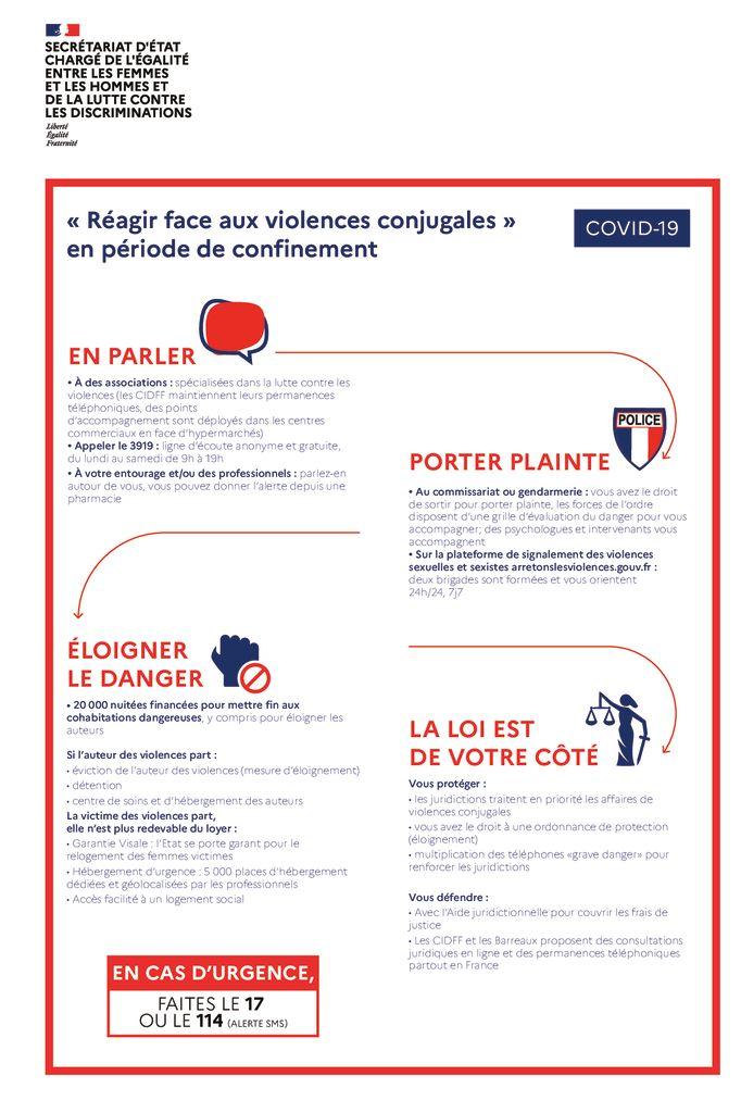 thumbnail of affiche nationale Violences Conjugales