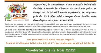 thumbnail of FLASH N° 5 MaCommuneMaSanté ManifNoël2020 CollecteEncombrants2021 DéchetterieEppineTvx DPRavalementsClôtures PartTsportCLSH2 CalendriersPompiers
