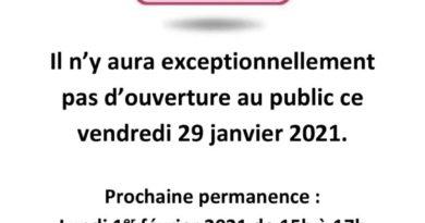 thumbnail of FermetureExceptionnelle_RéunionMaladie