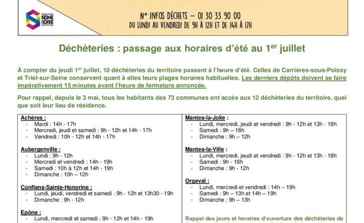 thumbnail of Déchèteries Eté 2021